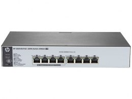 1820-8G-PoE+ (65W) Switch J9982A - Limited Lifetime Warranty