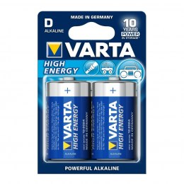 BATERIE ALKALICZNE VARTA R20 (typD) LONGLIFE POWER (HIGH ENERGY) 2szt