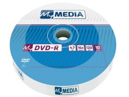 DVD-R MY MEDIA 4.7GB X16 WRAP (SPINDLE 10)