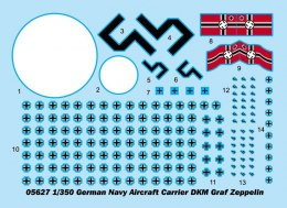 German Navy Aircraft DKM Graf Zeppelin