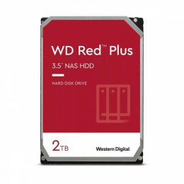 Dysk WD Red Plus 2TB 3,5'CMR 128MB/5400RPM WD20EFZX